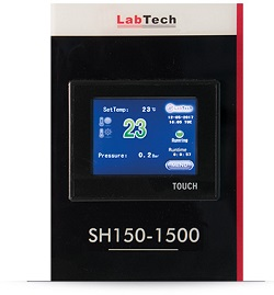 Labtech laboratory water chiller control display