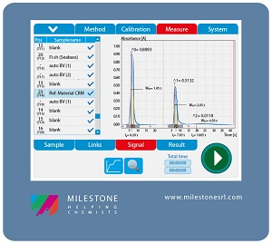 Mercury analyser control software