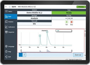Micro GC mobile system software