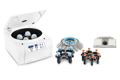Labtech centrifuges with rotor